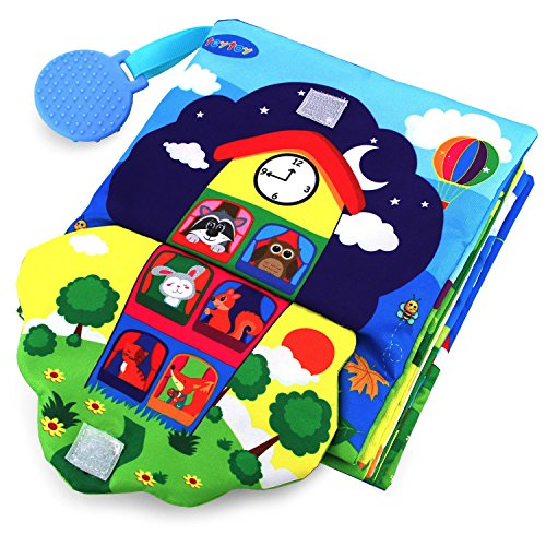 teytoy Baby Spielzeug ab 0 3 6 Monate Knisterbuch Baby...