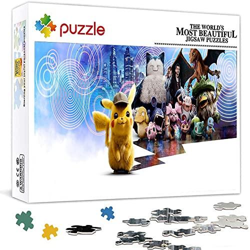 1000 Teile Puzzle für Erwachsene Pokémon Detektiv Pikachu Puzzle...