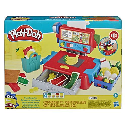 Play-Doh Supermarkt-Kasse Spielzeug für Kinder ab 3 Jahren mit...