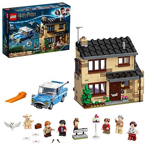 LEGO 75968 Harry Potter Ligusterweg 4, Spielzeug-Haus mit Ford Anglia...