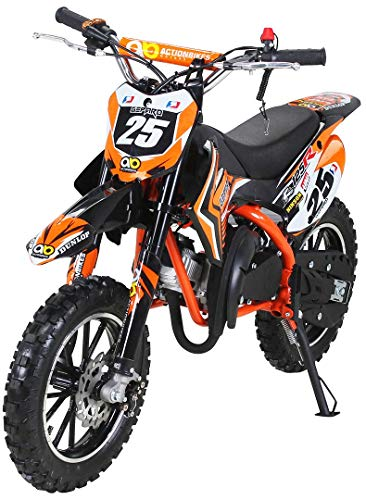 Actionbikes Motors Mini Kinder Crossbike Gepard 49 cc -...