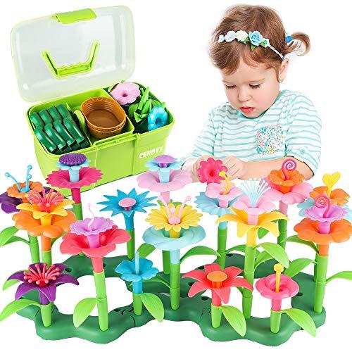 CENOVE Blumengarten Spielzeug für 3-6 Jährige Mädchen, DIY Bouquet...