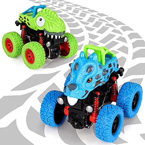 Spielzeug ab 2 3 4 5 Jahre Junge, Dinosaurier Spielzeug Auto Geschenke...