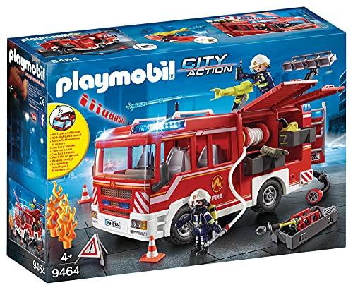 Playmobil City Action 9464 Feuerwehr-Rüstfahrzeug mit Licht und...