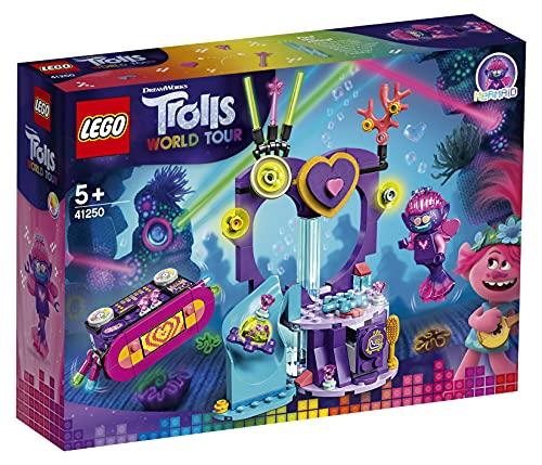LEGO 41250 Trolls World Tour Party am Techno Riff Tanzparty Spielset...