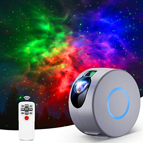 Sternenhimmel Projektor, LED Galaxy Light Projector mit Fernbedienung,...