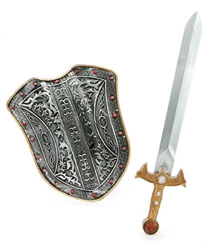 Generique - Mittelalter-Set mit Schild und Schwert