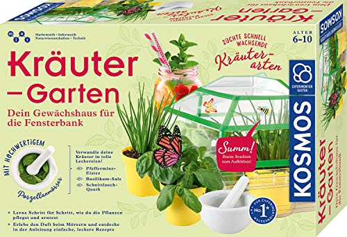 KOSMOS 632090 - Kräuter-Garten, Züchte duftende Kräuter auf der...