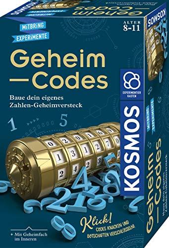 KOSMOS 658076 Geheim-Codes, Baue ein eigenes Zahlen-Geheimversteck,...