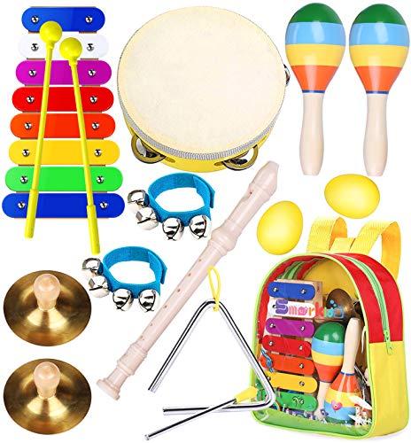 Kinder Musikinstrumenten Spielzeug Set - Smarkids Schlaginstrument...