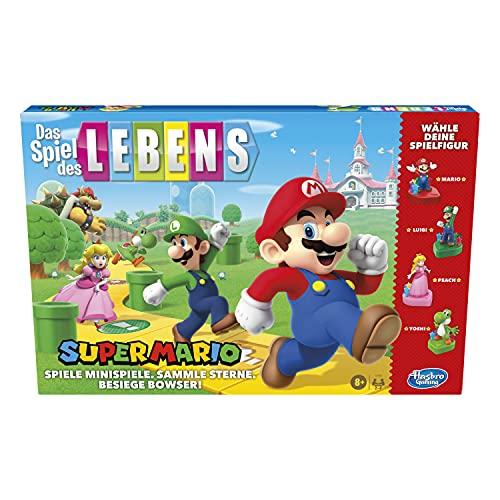 Das Spiel des Lebens Super Mario Brettspiel für Kinder ab 8 Jahren,...
