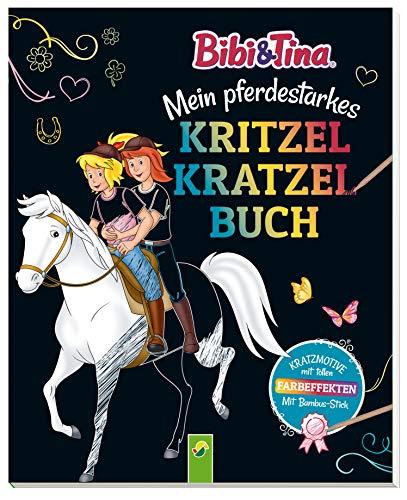 Bibi & Tina - Mein pferdestarkes Kritzel-Kratzel-Buch: Mit...