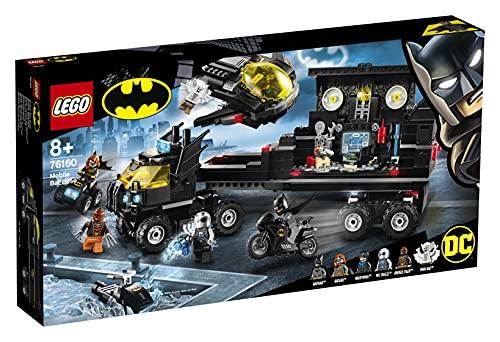 LEGO 76160 Super Heroes DC Batman Mobile Batbasis, Truck Spielzeug mit...