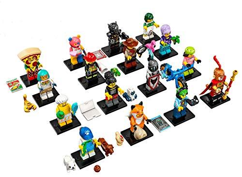 LEGO Serie 19 – Komplettes Set mit 16 Minifiguren 71025 (Beutel)
