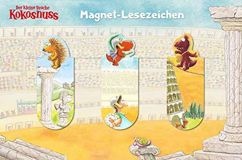 Cbj Der kleine Drache Kokosnuss - Magnet-Lesezeichen: 3er Set