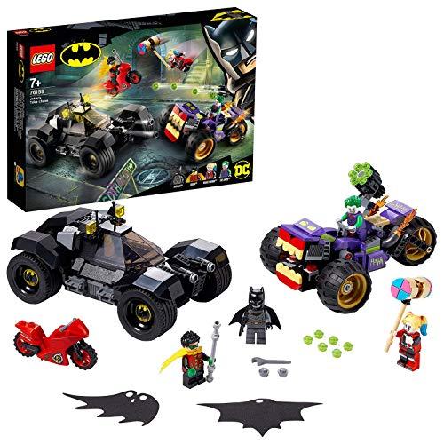 LEGO 76159 Super Heroes DC Batman Jokers Trike-Verfolgungsjagd mit...