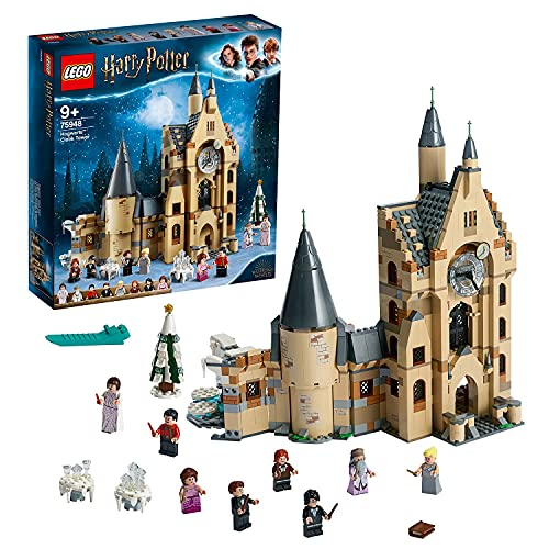 LEGO 75948 Harry Potter Hogwarts Uhrenturm Spielzeug kompatibel mit...