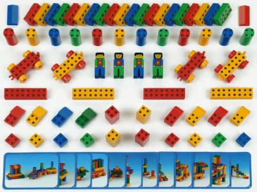 Theo Klein 652 - Bauklötze-Set 'Manetico' groß 66 Teile