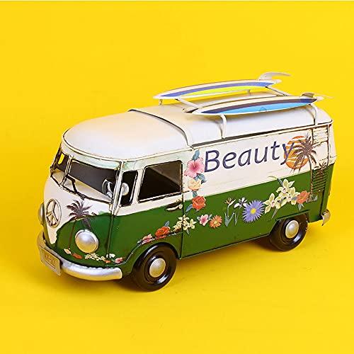 QHYZRV Tissue Box Bus Modell Wohnzimmer Weinschrank Dekorationen...