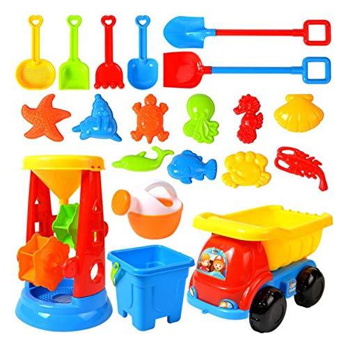 Kinder 20 Stück Strand Sandspielzeug Set, Sand Tisch...