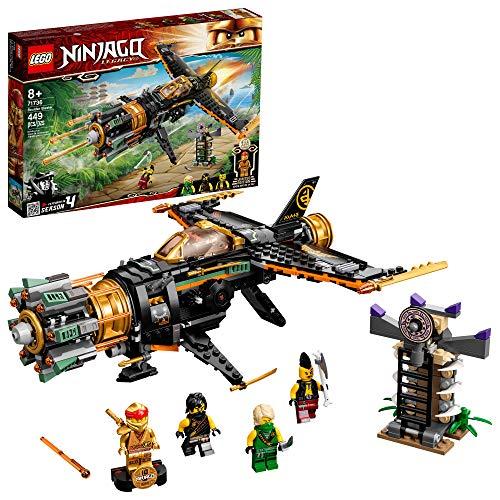 LEGO NINJAGO Legacy Boulder Blaster 71736 Airplane Toy Featuring...