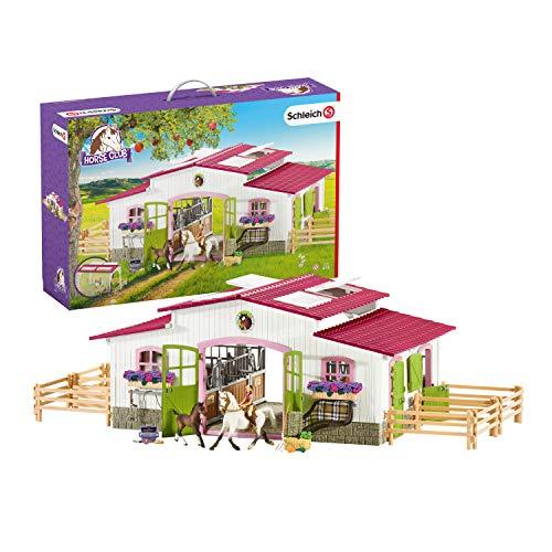 Schleich 42344 Horse Club Spielset - Reiterhof mit...