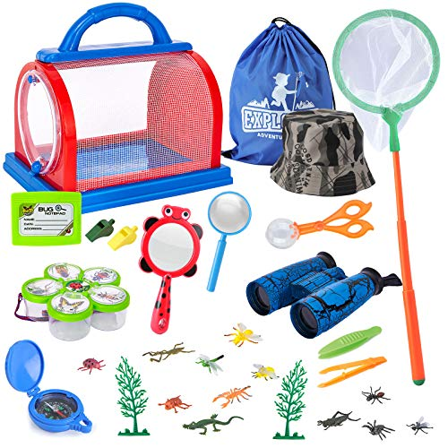 Draussen Forscherset Spielzeug, Bug Catcher Kit 27...