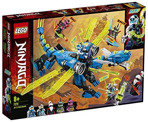Lego71711NINJAGOJaysCyber-DracheMech,BausetmitdenMini...