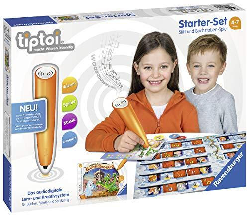 Ravensburger tiptoi Starter-Set 00802: Stift und Buchstaben-Spiel -...