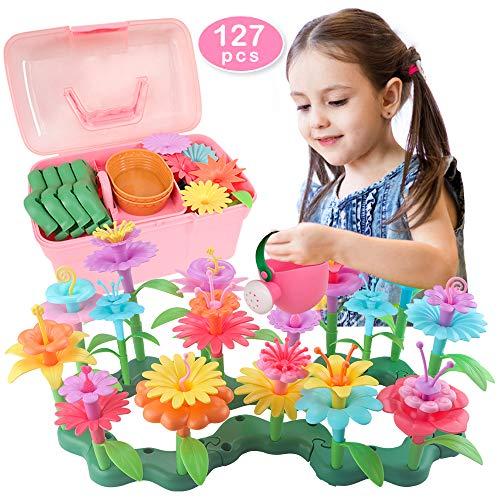 Blumengarten Spielzeug für Mädchen 3 4 5 6 jährige Geburtstag Mädchen Geschenke Kleinkind Spielzeug DIY...