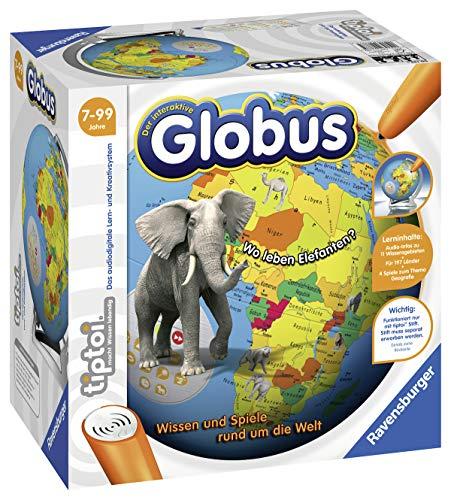 Ravensburger tiptoi 00787 - 'Der interaktive Globus' / Spiel von Ravensburger ab 7 Jahren / Wissen und Spiele...