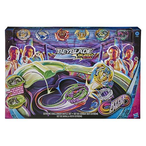 Hasbro Beyblade Burst Rise Hypersphere Extreme Challenger Battle Set...