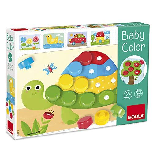 Jumbo Spiele D53140 GOULA - Baby Color - Holzspiel für Kleinkinder -...