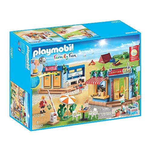 PLAYMOBIL Family Fun 70087 Großer Campingplatz, Ab 4 Jahren