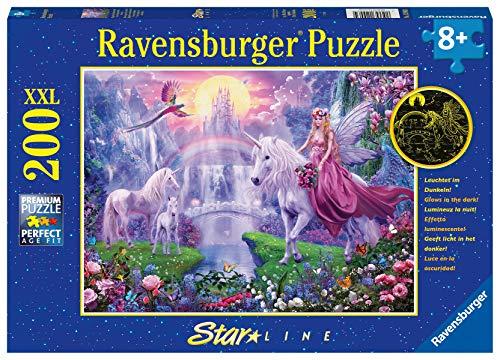 Ravensburger Kinderpuzzle - 12903 Magische Einhornnacht -...