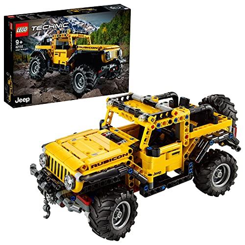 LEGO 42122 Technic Jeep Wrangler 4x4 Spielzeugauto, Geländewagen, SUV...