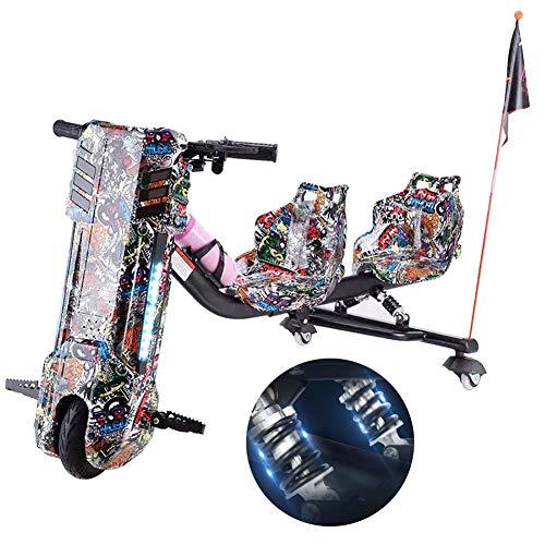 Elektrische Drift-Trikes 360 Electric Drift Dreirad Hinteres Doppelfeder-Stoßdämpfungsdesign Hinzugefügt...