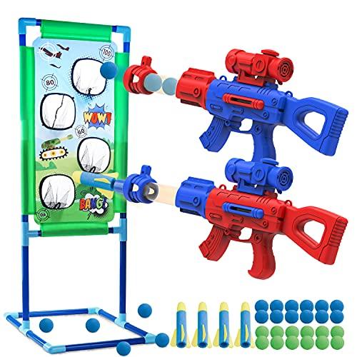 SLDALES 2PCS Spielzeug Pistolen Kinder Geschenke, Mit 24...