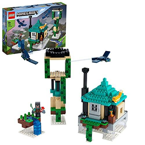 LEGO 21173 Minecraft Der Himmelsturm Set, Spielzeug für Kinder ab 8...