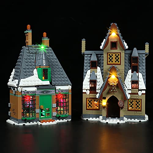 QXQY Led Beleuchtungsset für Lego 76388 Harry Potter Besuch in...