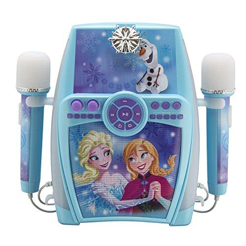 eKids FR-615 Disney Frozen Karaoke Maschine mit Aufnahme-Funktion und...