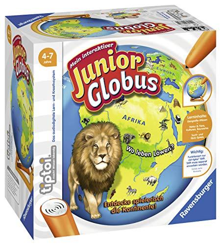 Ravensburger tiptoi 00785 - 'Mein interaktiver Junior Globus' / Spiel von Ravensburger ab 4 Jahren / Entdecke...