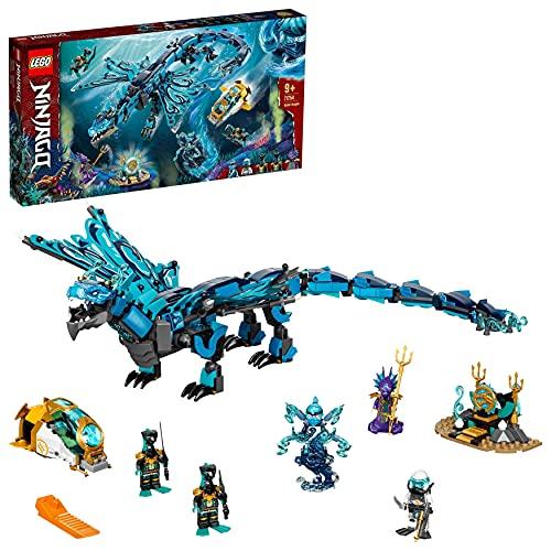 LEGO 71754 NINJAGO Wasserdrache Drachen Spielzeug für Kinder ab 9...