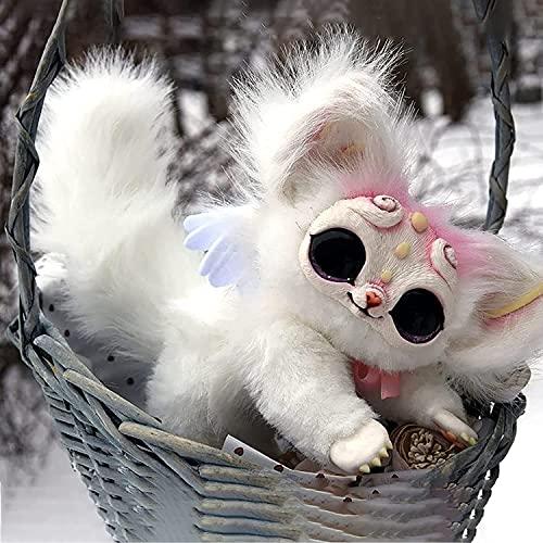 Victorian Legendary Elf Creature Plushies, Lovely Kitten Soft Plüsch...