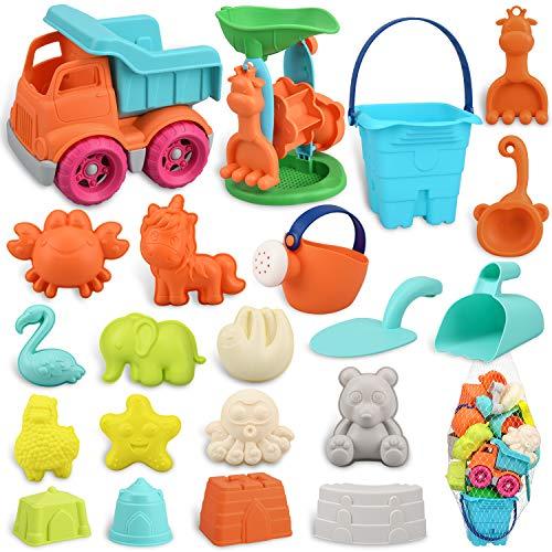 balnore Sandspielzeug für Kinder Junge Mädchen, 22 Stück...