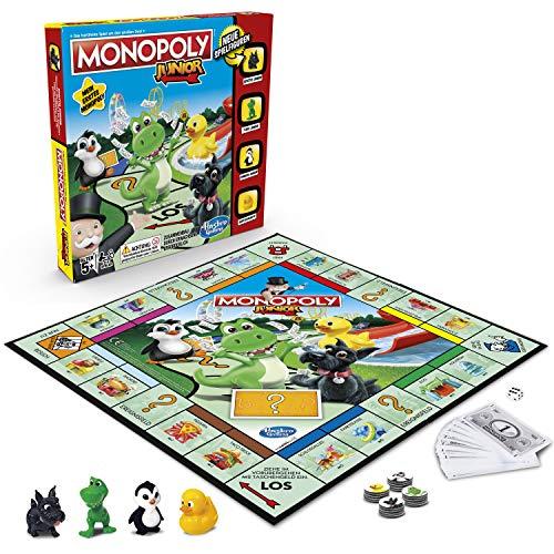 Hasbro Gaming A6984594 Monopoly - Junior, der Klassiker der...
