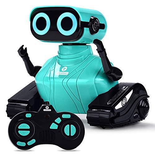 ALLCELE RC Roboter Kinder Spielzeug, Ferngesteuertes...