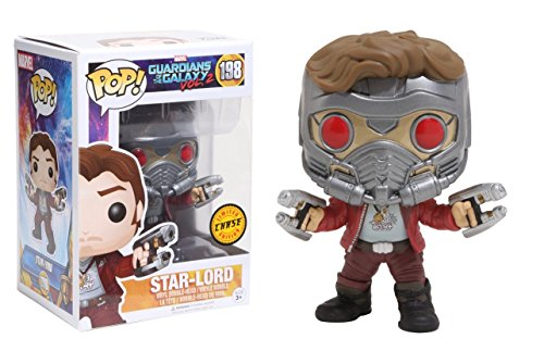 Funko POP! Guardians Of The Galaxy Vol 2: Star-Lord (CHASE) - Stylized...