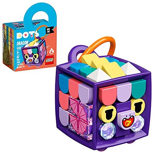 LEGO 41939 DOTS Taschenanhänger Drache Designspielzeug für Kinder,...