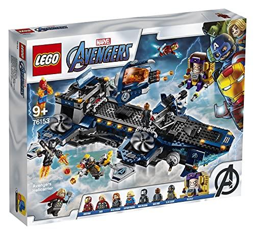 LEGO 76153 Super Heroes Marvel Avengers - Helicarrier Spielzeug mit...